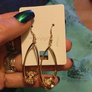 I am Copper earrings